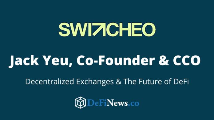 Switcheo DeX Interview DeFi