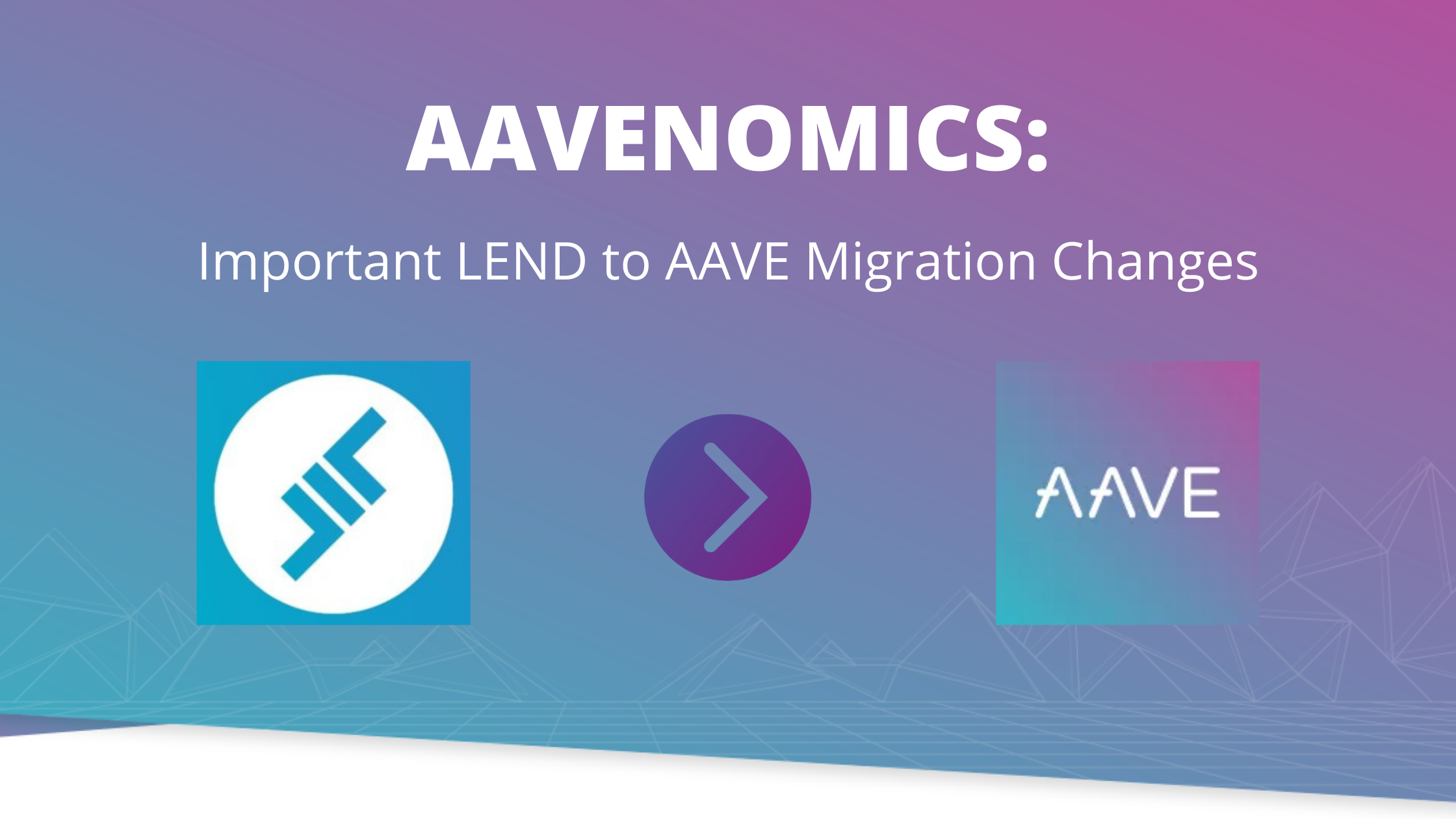 AAVENOMICS LEND to AAVE